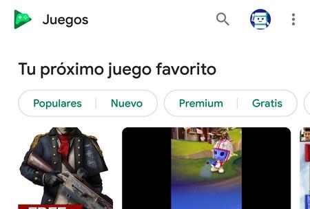 Google Play Juegos estrena buscador y se prepara para recibir el tema oscuro