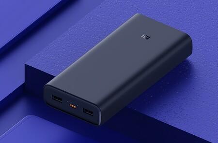 Xiaomi tiene una nueva batería portátil: un monstruo de 20,000 mAh y carga rápida de 50W por menos de 1,000 pesos