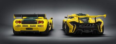 McLaren P1 GTR y F1 LM