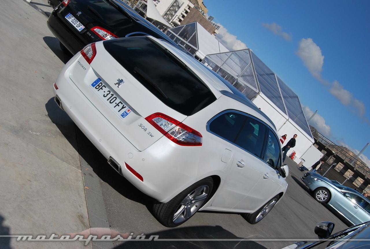 Foto de Peugeot 508 y 508 SW (presentación) (100/118)