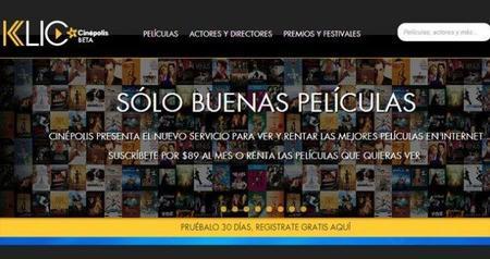 Cinepolis presenta su propio servicio de películas en streaming