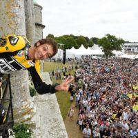 Valentino Rossi en el Goodwood Festival of Speed
