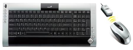 Genius LuxeMate 635, ratón y teclado inalámbricos