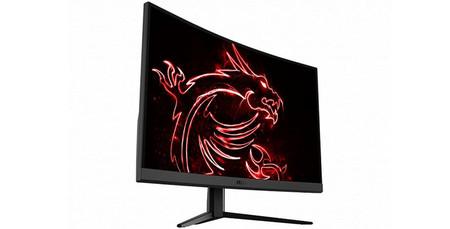 MSI presenta su nuevo monitor gaming: 165 Hz, pantalla curva y 1080p en el MAG Optix G27C4