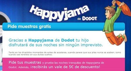 Consigue 5 euros de descuento en productos Happyjama de Dodot para los peques de la casa