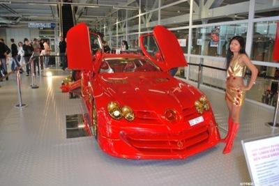Mercedes SLR McLaren 999 Red Gold Dream: fiebre del oro Suiza