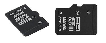 Las tarjetas de memoria Kingston MicroSDHC, ahora en 32GB