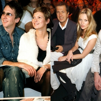 kate moss front row