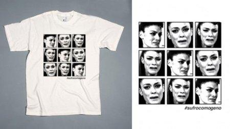 Las caras de sufrimiento de Geno de Operación Triunfo en la camiseta #sufrocomogeno