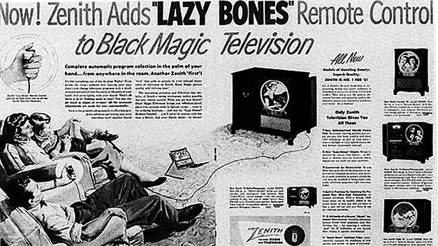 Mando a distancia anuncio 1950