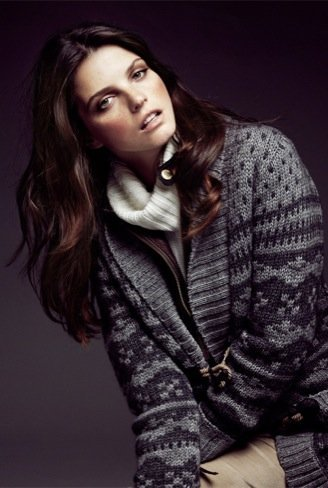 Massimo Dutti, colección Winter Holiday 2010. Geométrico