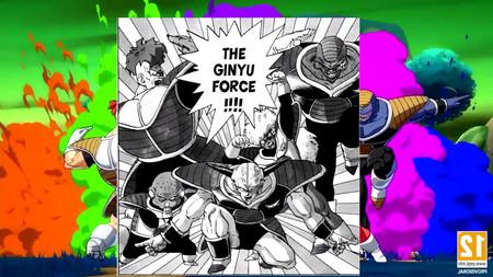 Dragon Ball FighterZ: aquí tienes todas las referencias de Ginyu... ¡Y  las de las Fuerzas Especiales!