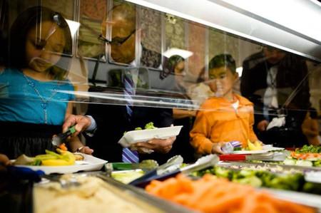 Los alumnos de la escuela pública 244 de Nueva York, se concentran más desde que sirven menús vegetarianos