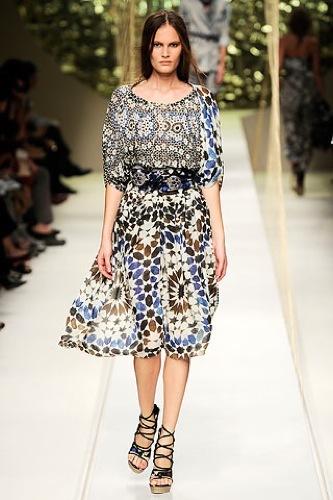 El estampado floral dominará la Primavera-Verano 2010: vestidos para tomar nota, Kenzo