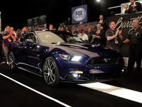 ¡300 mil dólares por el primer nuevo Mustang 2015!