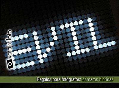 Regalos para fotógrafos: cámaras híbridas