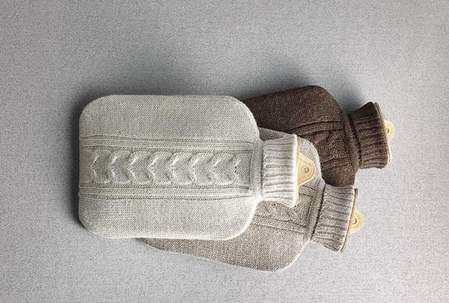 Una buena idea bolsas de agua caliente vestidas con bonitos jerseys - Bolsa de agua caliente ...