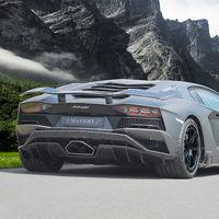 Este Lamborghini Aventador S según Mansory confirma que el especialista no se cansa de la fibra de carbono