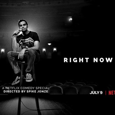 'Aziz Ansari: Right Now': Netflix se apunta el monólogo del año con una emocionante reflexión sobre el contexto cultural