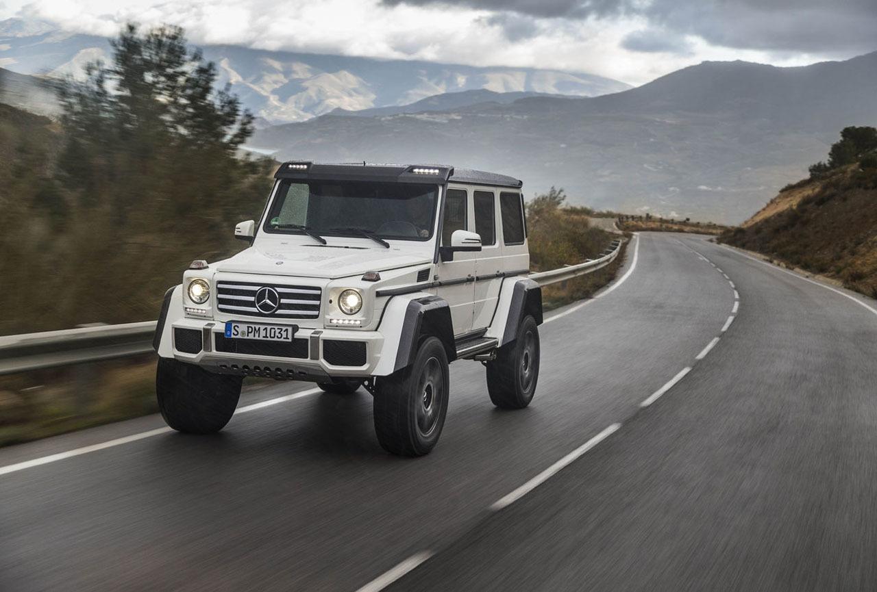 Foto de Mercedes-Benz G 500 4x4², toma de contacto (95/127)
