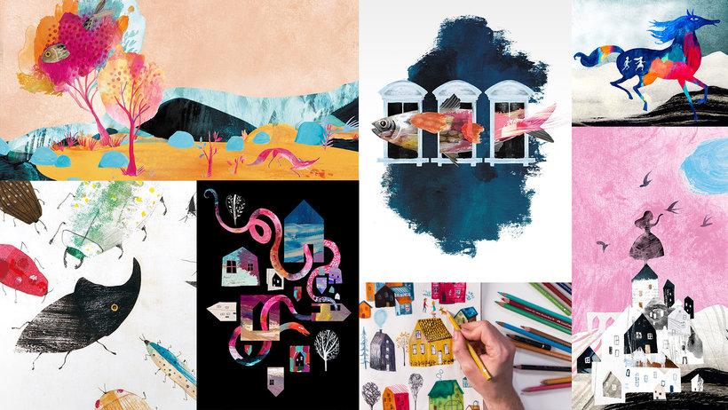 Técnicas de ilustración para desbloquear tu creatividad