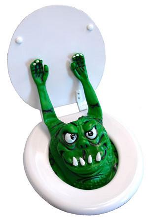 El monstruo del baño