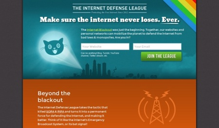 "The Internet Defense League, la ""batseñal"" para defender Internet"