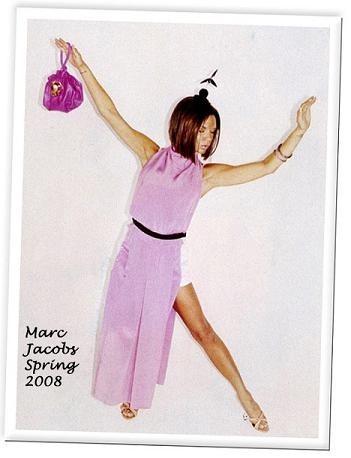 Nueva foto de Victoria Beckham para Marc Jacobs