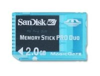 Memory Stick PRO Duo de 2GB, apoyo para PSP