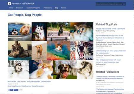 ¿Eres más de perros o de gatos? Un estudio de Facebook revela algunos rasgos de ambos dueños