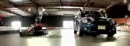 Mini Clubman S vs Kart, pequeños pero matones