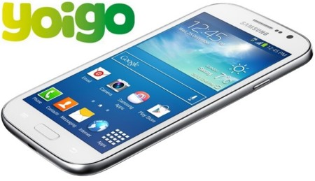 Precios Samsung Galaxy Grand Neo Plus con Yoigo