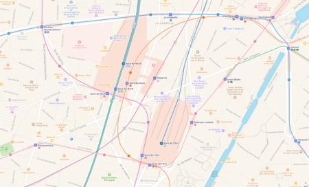 Cada vez más cerca: los mapas de Apple añaden transporte público en París