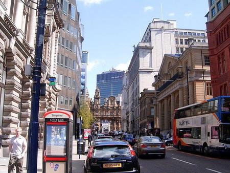 El centro de Manchester es tan interesante a causa de la explosión de una bomba del IRA