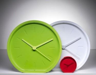 Divertido reloj de Roth y Dubreuil, de doble posición