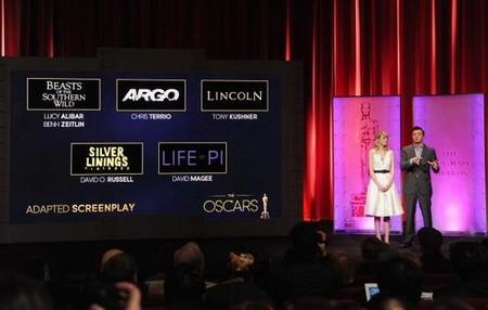 Los mejores guiones de 2012