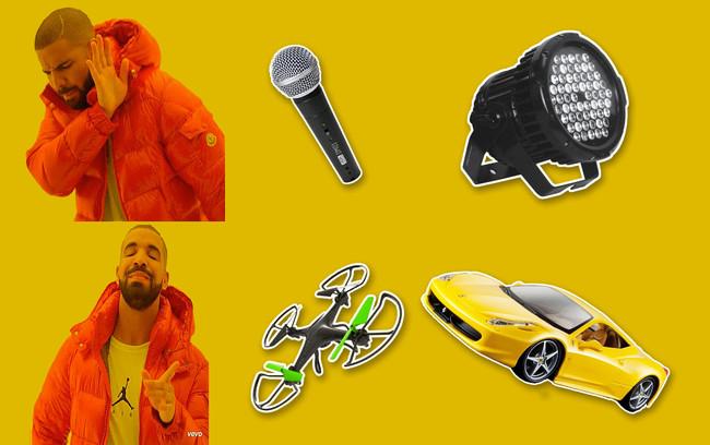 """200 drones autónomos, un coche volador y un escenario con """"notch"""": así es la gira más """"techie"""" de Drake"""