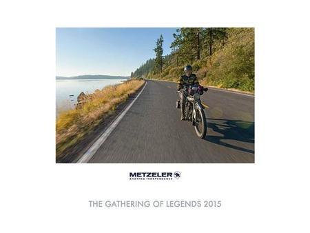 El encuentro de las leyendas, calendario Metzeler para 2015