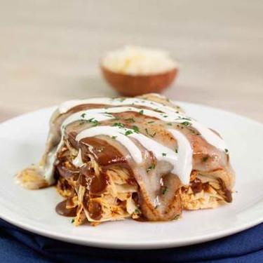 Deliciosa Lasaña de Mole. Receta fusión italo-mexicana