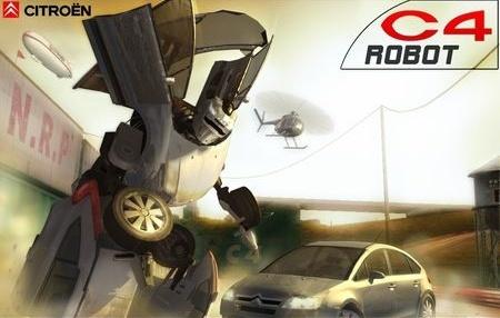 'Citroën C4 Robot', el videojuego gratuito del famoso anuncio