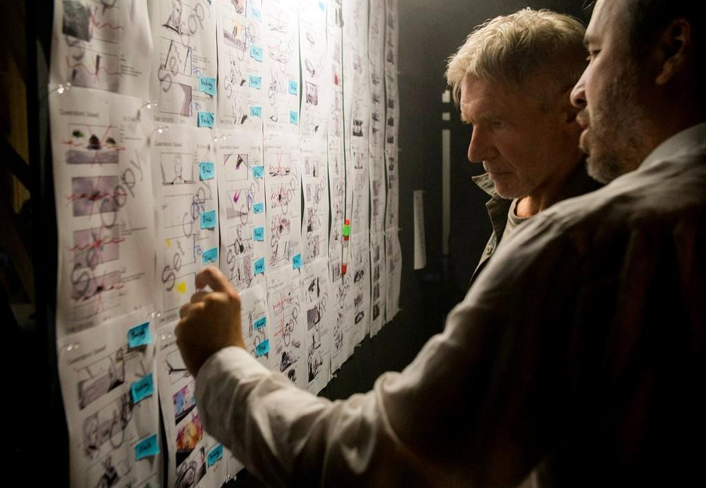 Harrison Ford con Denis Villenueve