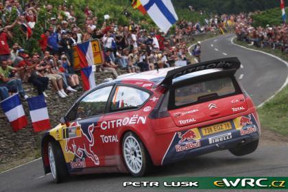 Doblete de Citroen en el Rally de Alemania