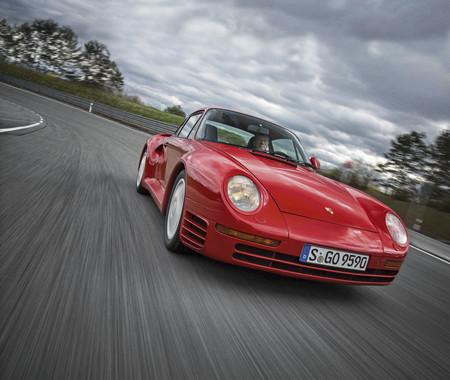 Walter Rohrl Porsche 959