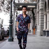 Conoce a Austin Levine, el bloguero que nos muestra cómo los prints se llevan por encima de todo en verano