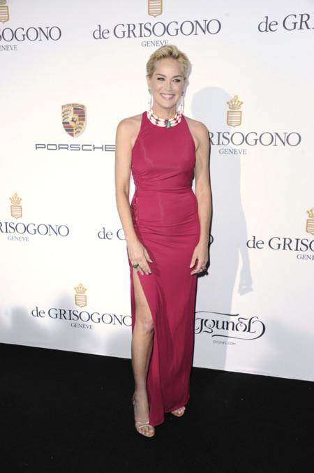 Sharon Stone muy sexy