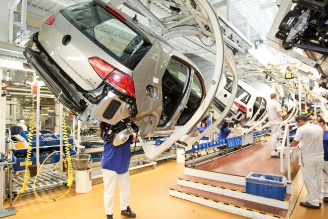 Volkswagen Golf Fábrica de Wolfsburgo