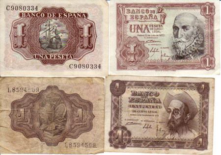 Spain Franco Bank Notes 0001