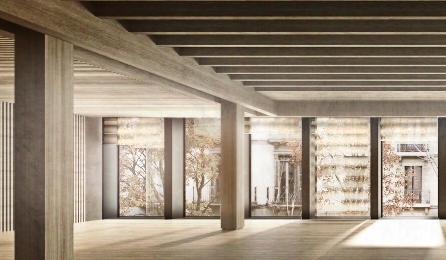 El primer bloque de pisos de madera de España estará en Barcelona: más fáciles de construir y mucho más cálidos