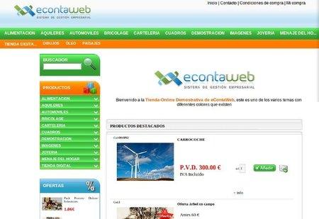 econtaweb tienda online
