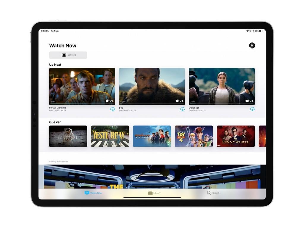 Así puedes descargar series de Apple TV+ para ver sin conexión en tu iPhone o iPad